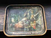 Pre Prohibition Indianapolis Brewing Co Duesseldorfer Beer Tray Advertising Tin