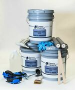 Diy - 3 Layer Military Grade Epoxy Flooring Kit