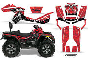 Atv Graphics Kit Decal Wrap For Canam Outlander Max 500/800 2006-2012 Reaper Red