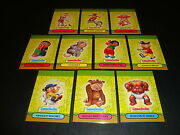 Garbage Pail Kids Ans7 All New Series 7 Pop Up Cards Complete Your Sets 1-10