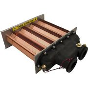 Hayward Haxhxa1153 H150 Heat Exchanger Assembly For H-series Ed2