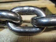 35 Ft Stainless Steel Anchor Chain 3/8 Link 304 Bbb