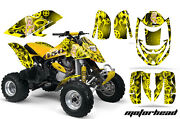 Atv Graphics Kit Decal Quad Wrap For Can-am Bombardier Ds650 Ds 650 Motomandy Y
