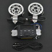 Motorcycle Horns Audio Fm Radio Mp3 Ipod Stereo Speakers Sound System P Tk11