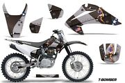 Dirt Bike Graphics Kit Decal Wrap For Honda Crf150 Crf230f 2003-2007 Tbomber Blk