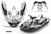 Jet Ski Graphics Kit Decal Wrap For Sea-doo Bombardier Spark 2 Up 14-18 Reaper W