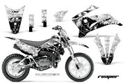 Graphics Kit Decal Sticker Wrap + Plates For Yamaha Ttr110 2008-2018 Reaper W