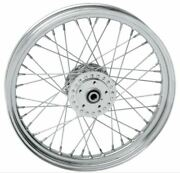 Drag Specialties Stock Replacement 40-spoked Front Wheel 19x2.5 0203-0413