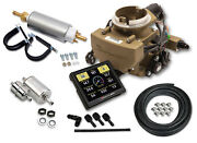 Holley 550-866k Sniper Efi Replaces Gm Rochchester 2gc Small Bore 2 Barrel Carb