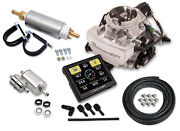 Holley 550-864k Sniper Efi Replaces Gm Rochchester 2gc Small Bore 2 Barrel Carb