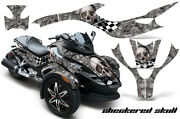 Roadster Graphics Kit Decal Sticker Wrap For Can-am Brp Rs Spyder Trike Check S