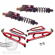 Elka Stage 4 Shocks Jd Lt A-arms Yamaha Yfz450 Banshee Raptor 250r 660 700