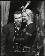 Joe Coleman And Whitney Ward Photo 8x10 Bandw Vintage Dkrm Contact Print Sign Orig