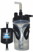 Hho Bubbler Tank Kit, 6 Psi Safety Valve, Metal Mounting+filter For Hho Systems.