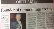 Gary Austin 1941 - 2017 Director And Founder Of Groundlings Troupe
