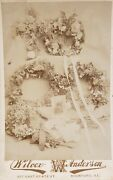 Antique Post Mortem Rare Cabinet Card In Cabinet Card Funeral Rockford Il Photo