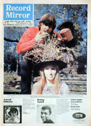 Record Mirror 12 June 1965 . Beatles John Lennon And Cynthia Front Cover . Not Nme