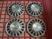 1968 Ford Mustang  Set Of Four 14 Oem Hubcaps