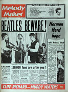 Melody Maker 2 Nov 1963 . The Beatles Front Cover . Not Nme