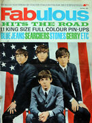 Fabulous Magazine 4 Apr 1964 . The Beatles Front Cover . Rolling Stones .not 208