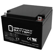 Mighty Max Ml26-12 12v 26ah Battery Replaces Shampaine 5100b Surgical Table