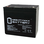 Mighty Max 12v 55ah Internal Thread Battery Replaces Toro Lx465 Lawn And Garden