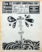 Nme 24 Dec 1966 . The Beatles Christmas Front Cover . Jimi Hendrix Experience