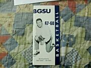 1967-68 Bowling Green Basketball Media Guide Yearbook Bill Fitch Boston Celtics