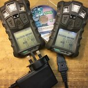 Msa Altair 4x Gas Detector, O2,h2s,co,lel + Charger