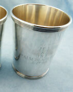 Very Rare Vintage Alvin S251 Sterling Silver Mint Julep Cup, W/mono