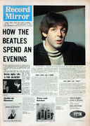 Record Mirror 15 May 1965 . Beatles Paul Mccartney Front Cover . Not Nme