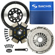 Sachs-max Stage 3 Clutch Solid Flywheel Kit For 99-06 Vw Beetle Golf Jetta 2.0l