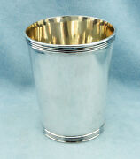 Rare Vintage Sterling Silver Mint Julep Cup By Frank Smith Silver, No Monograms