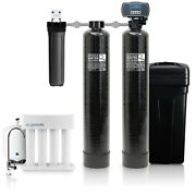 Aquasure Water Softener, Whole House Water Filtration, Ro System, 48,000 Grains