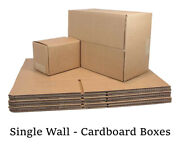 Strong Quality Single Wall Postal Mailing Manilla Cardboard Boxes Cheap