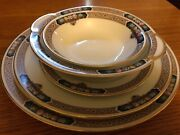 Beautiful Complete Set For 12 Vintage The Cordella China Thomas W Serving Pieces