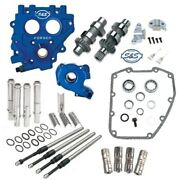 Sands 551ce Easy Chain Drive Camshaft Cam Chest Plate Pushrod Kit Harley 99-06 550