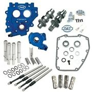 Sands 585ce Easy Chain Drive Camshaft Cam Chest Plate Pushrod Kit Harley 99-06 585