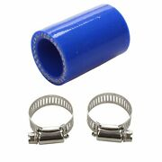 For Yamaha Blaster High Temp Silicone Exhaust Clamp Yfs 200 1id Blue