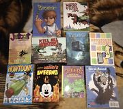 10 Mixed Graphic Novels Nm To Lightly Used 123 Value Young-adults Comics Oop