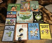Huge 10 Mixed Graphic Novels Lightly Used 103 Value Young-adults Comics Oop