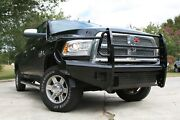 Fab Fours Dr06-s1160-1 Black Steel Front Ranch Bumper