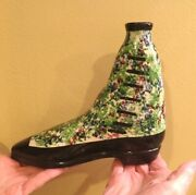 Pearlware Shoe Or Boot Flask – Scottish – Ca.1840-1850