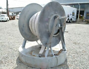 Nautical Salvage Deck Mounted Reel + Firehose Baltimore Maryland Fire Boat