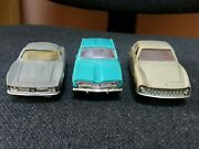 Vntg. Renault 16 , Iso Grifo , Ghia V. 280 Toy Cars Made In Ussr Plastic 1/43