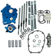 Sands M8 Cam Plate Oil Pump Kit Package Chrome 475c Chain Harley Touring Softail