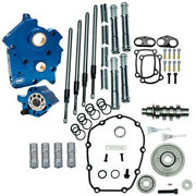 Sands M8 Cam Plate Oil Pump Kit Package Chrome 475g Gear Harley Touring Softail W