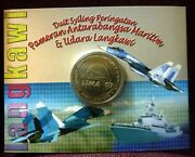 Malaysia 2003 International Maritime And Aerospace Exhibition Nordic Gold Coin