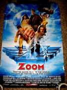 Zoom Movie Poster 27 X 40 Double Sided Rolled With Courtney Cox