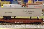 N-scale Custom Painted Fruit Growers Express Fge 45' Tofc